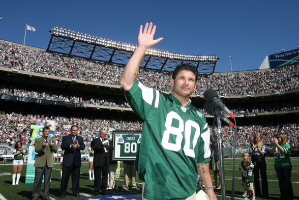 Wide Receiver Legend from the New York Jets